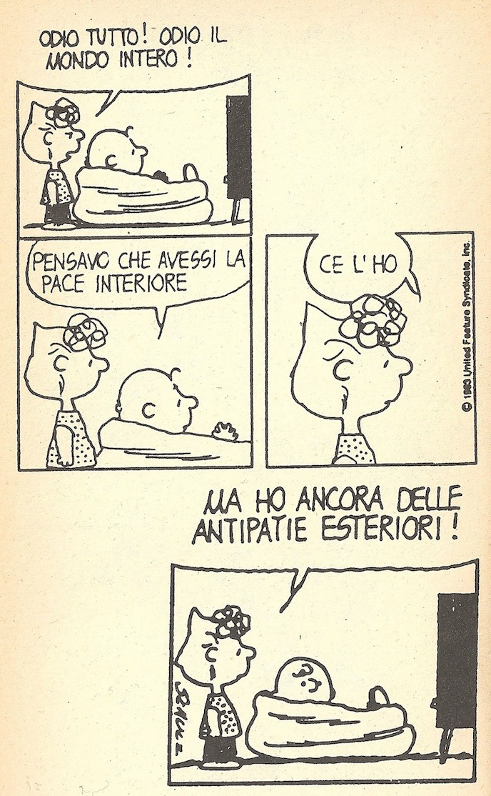 antipatie...
