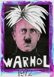 Adolf Hitler As Andy Warhol
