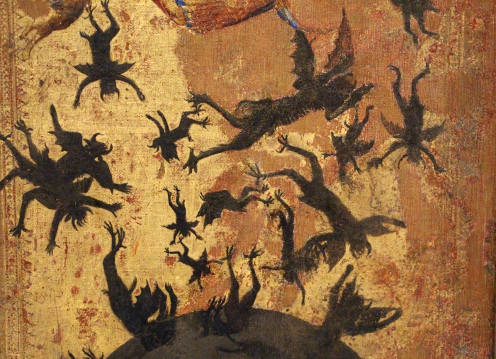 Maestro_degli_angeli_ribelli,_caduta_degli_angeli_ribelli_e_s._martino,_1340-45_ca._(siena)_04