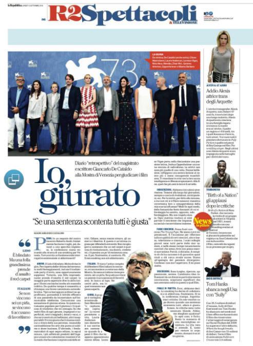 I, the Jury. De Cataldo a Venezia (Mani bucate, 16)